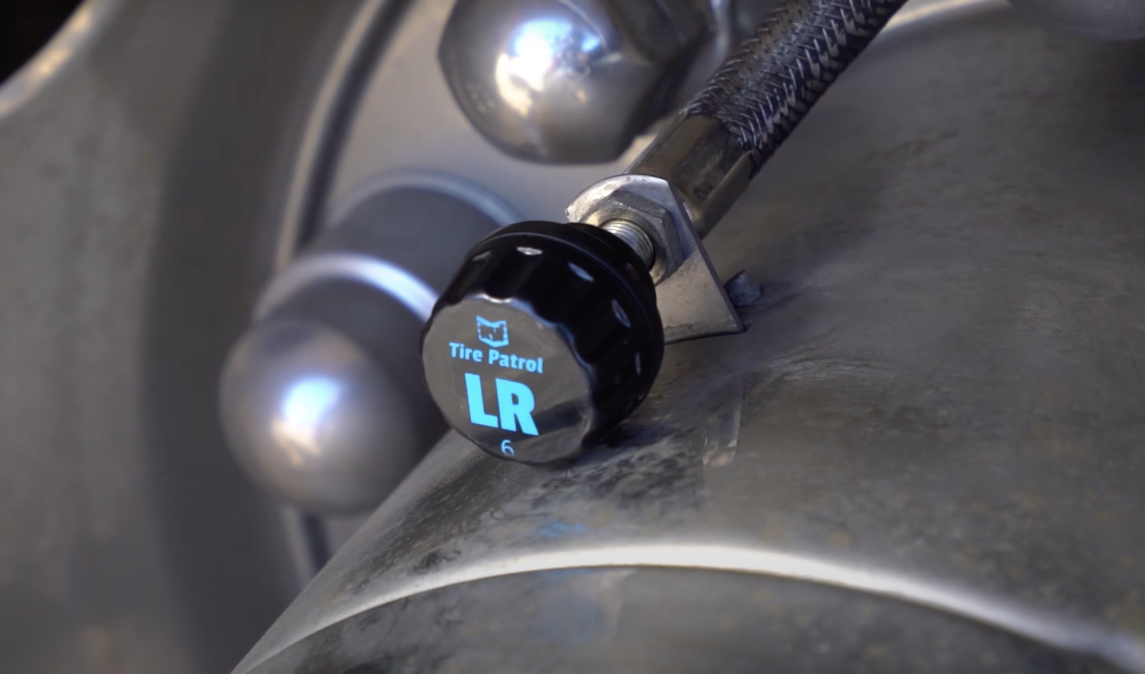 RVi Tire Pressure Monitoring System for RVing & flat towing