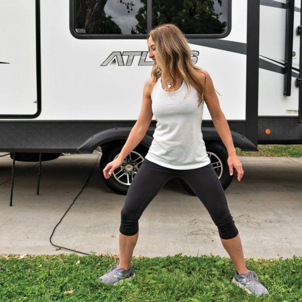 RV Workout Sideways Shuffle