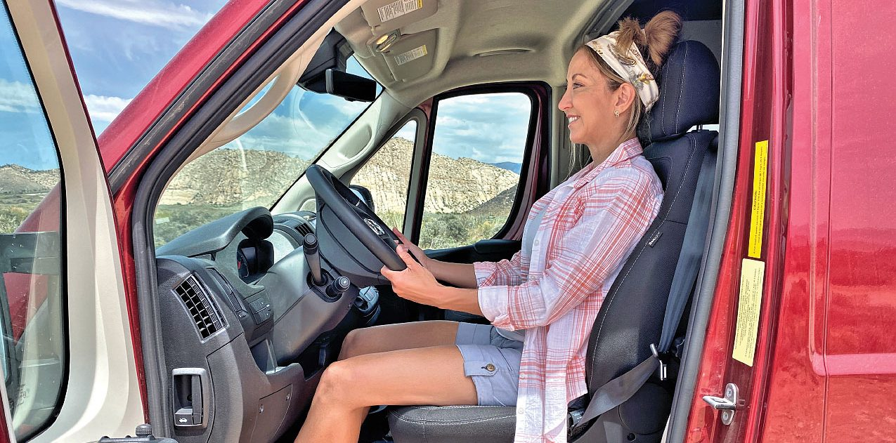 Healthy RV Driving Posture