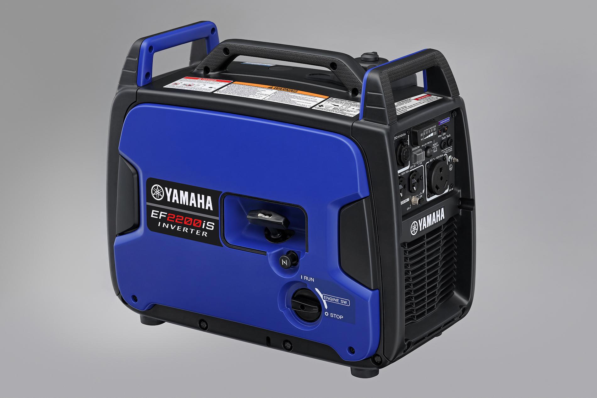 Yamaha EF2200iS portable generator side view