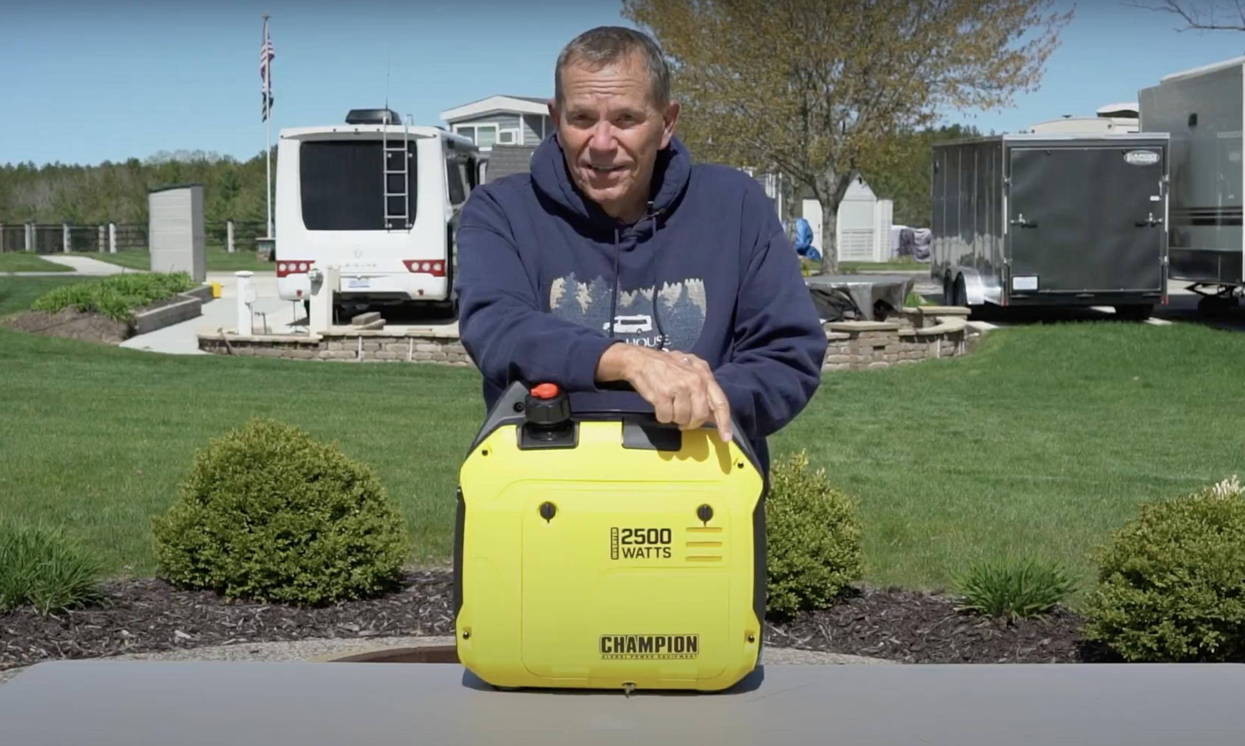 Champion 2500 Watt Portable Inverter Generator Review