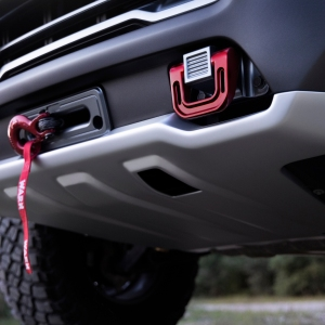 GMC Canyon AT4 OVRLANDX skid plate and bumper