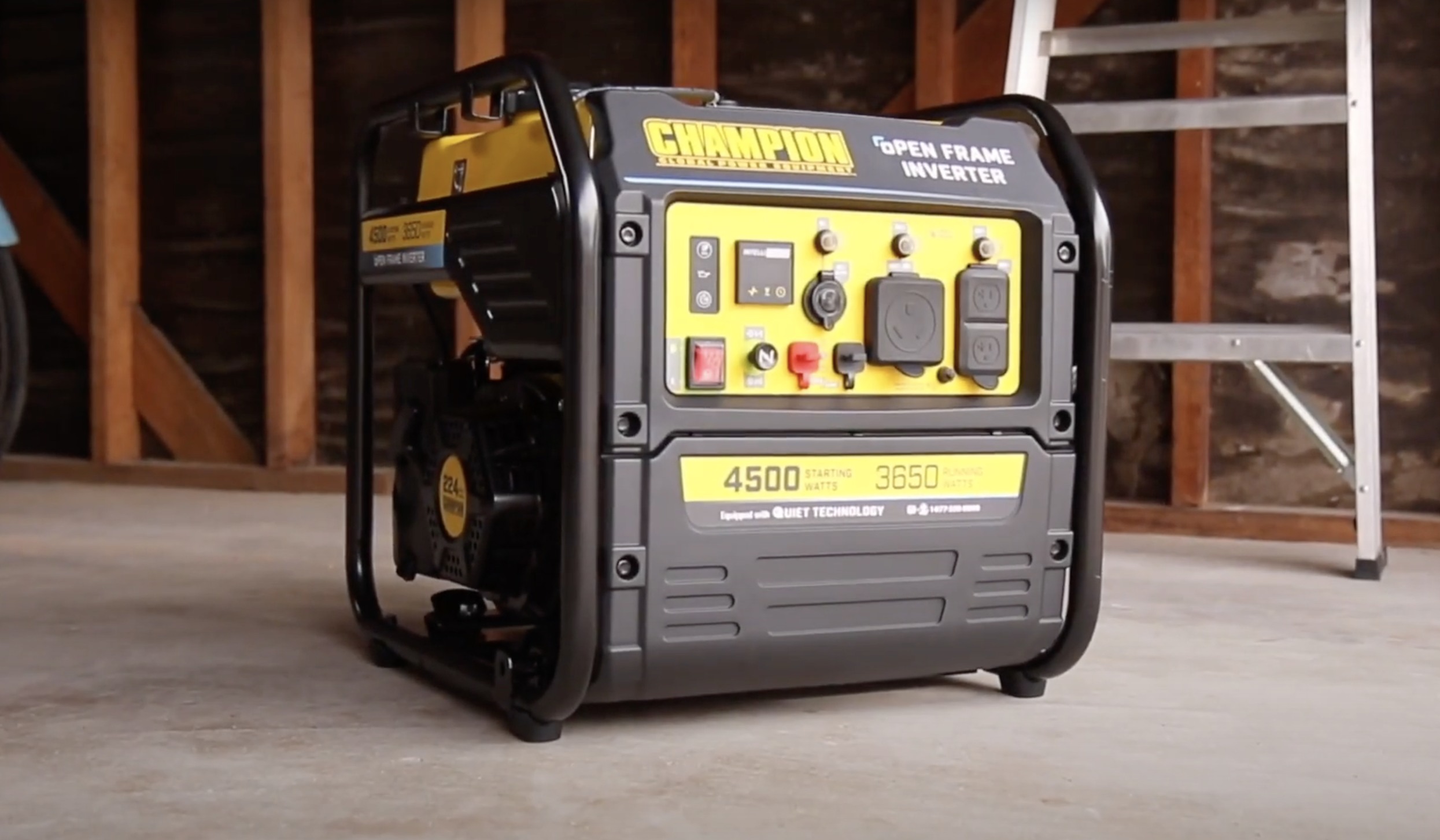 Champion RV generator