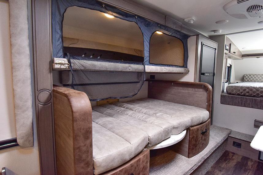 Lance truck camper bunk