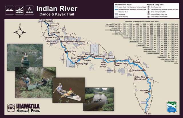 indian river map NPS