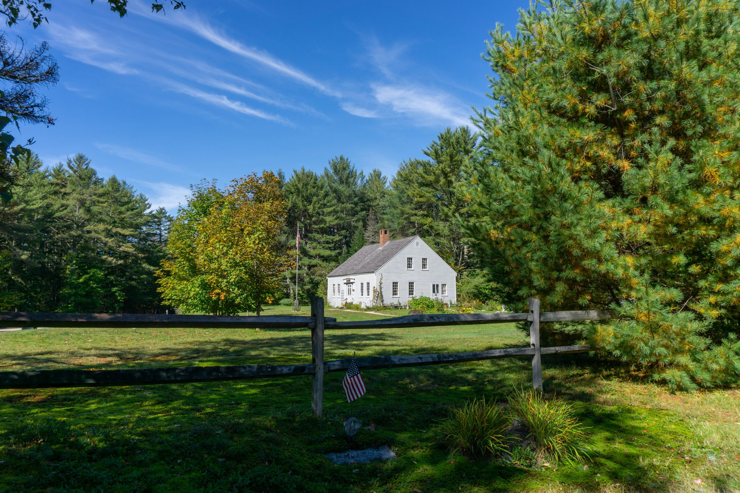 Passaconaway Russell-Colbath Homestead from Passaconaway Cemetery